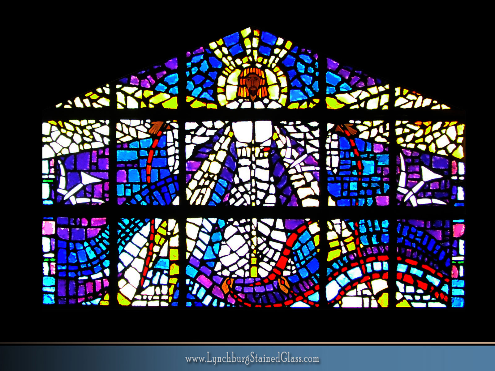 Stained Glass Background 07