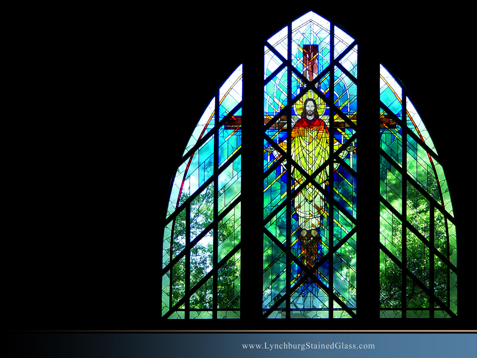 Stained Glass Background 11
