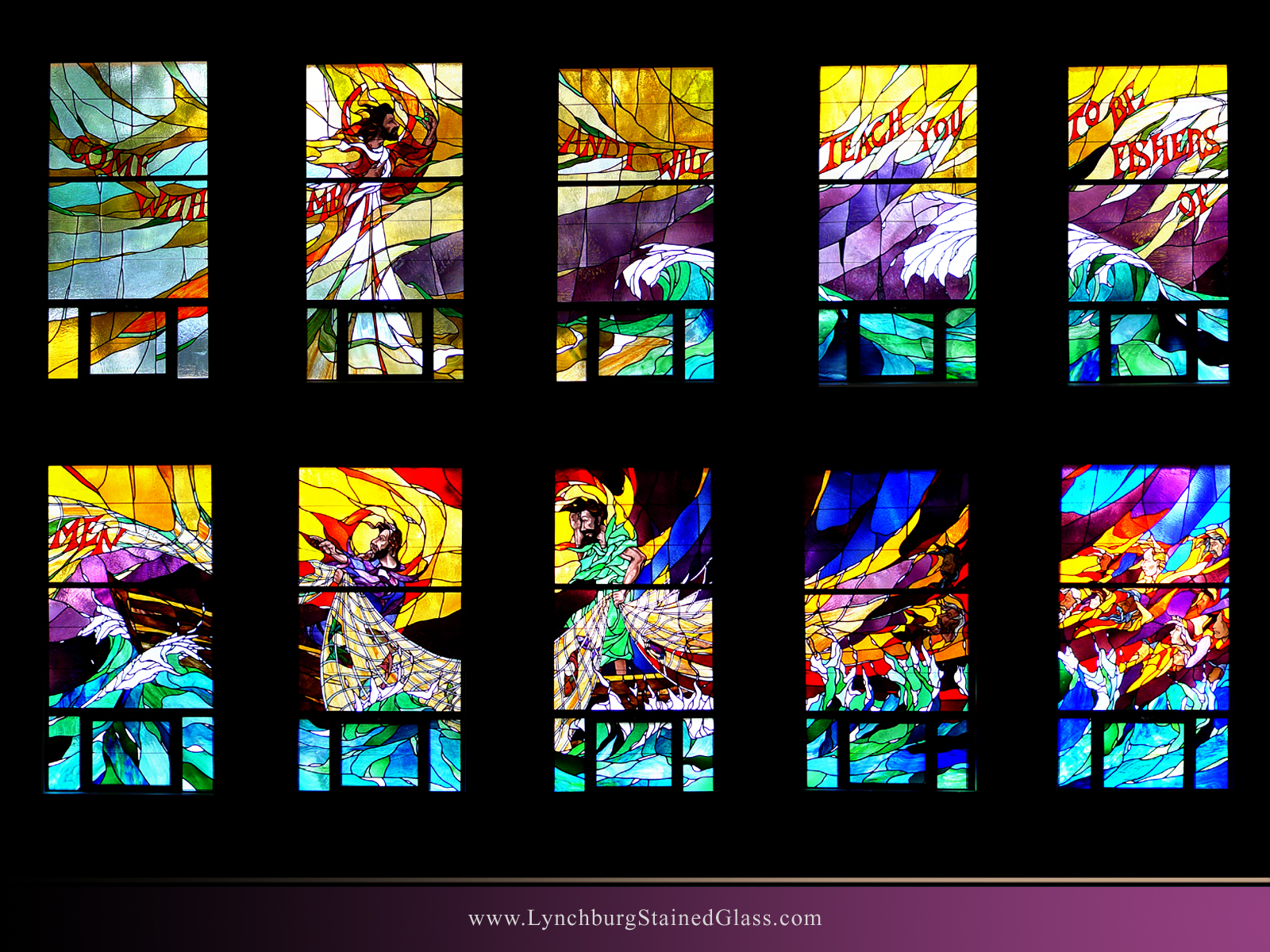 Stained Glass Background 12