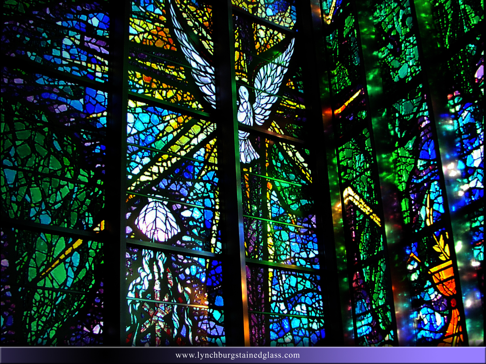 Stained Glass Background 13