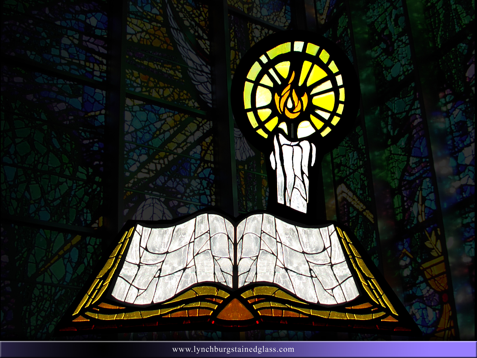 Stained Glass Background 14