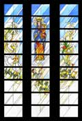 Lynchburg Stained Glass - Development Sketch